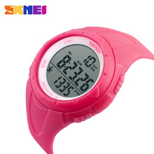 SKMEI Outdoor Sport Watch Women LED Health Sports Watches 5Bar Waterproof Ladies Wristwatch Alarm Chrono Watch relogio 1108