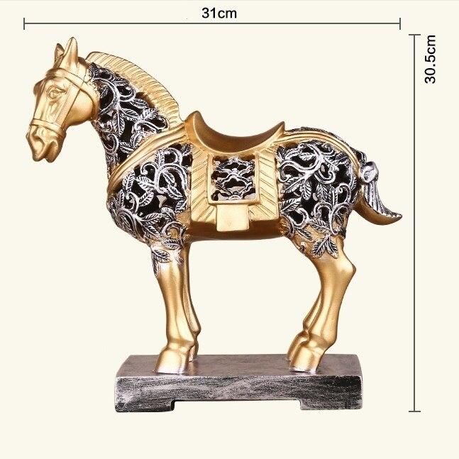 تمثال الحصان الاوروبي الفاخر ديكور و اكسسوارات اكسسوارات منزلية