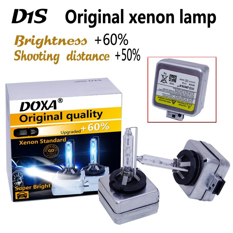 Free Shipping 2pcs/lot  35W D1S Xenon HID Bulb 4300K 6000K 8000K HID D1S Lamp Replacement D1S Xenon HeadLight Bulb