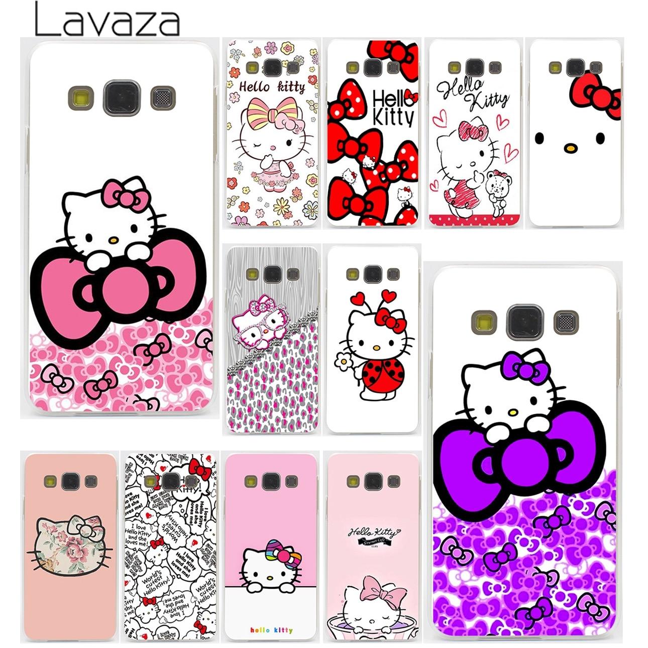 Fashionable Hello Kitty Hard Case for Galaxy S3 S4 S5 & Mini S6 S7 Edge S6 S8 Edge Plus
