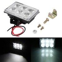 High Quality Square 12V 24V 18W 1200LM 6 SMD LED Work Light Lamp For SUV Car