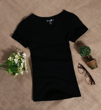 MRMT 2019 Women's T Shirt Women Short Sleeved Slim Solid Color Simple Pure Tee Womens T-Shirt For Female Women T shirts 3