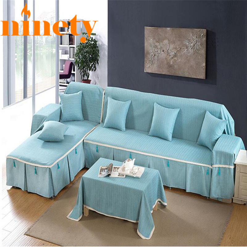 Funda Sofa Cover Solid Couch Case For The Sofas Cushions Left Right Chaise Slipcover Evrocheholy On Universal A90 Price