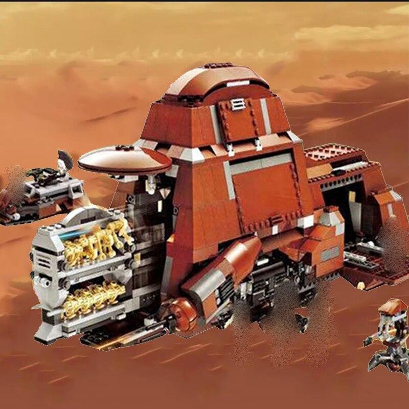 Star Wars Trade Federation MTT The Phantom Menace Movie Series Set Star Wars Building Blocks Toys