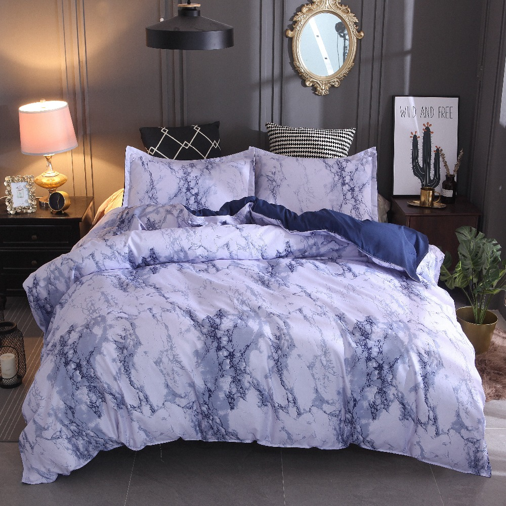 Luxury Quality comforter bedding king full kids Reactive Printing microfiber fabric Home textiles Duvet Cover Sets -no bedspread