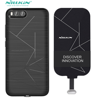 Wireless Charge Case For Xiaomi Mi 6 Qi Charging Receiver Cover Nillkin Magnetic Charging Adapter For