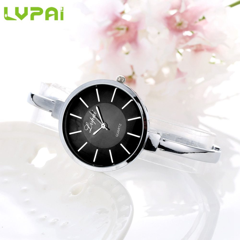 Excellent Quality LVPAI Watches Women Luxury Stainless Steel Bracelet Watches Ladies Quartz Dress Watches Reloj Mujer 24
