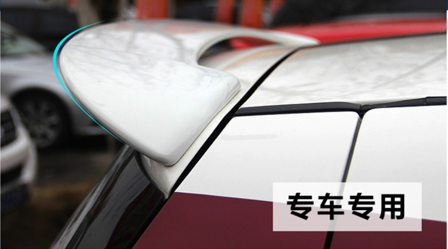 Spoiler For <font><b>Suzuki</b></font> <font><b>Swift</b></font> 2005.2006.2007.<font><b>2008</b></font>.2009.2010.2011.12.2013.2014.2015 High Quality Rear Wing Spoilers Trunk Lid Diffuser image