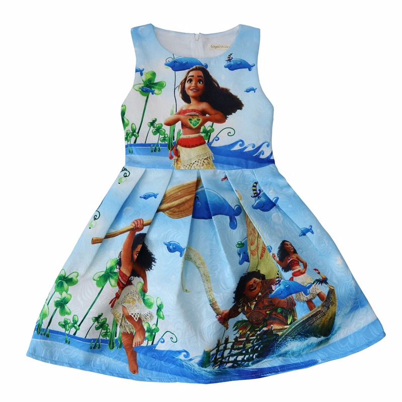 92aa884d171 US $12.52 33% OFF|Moana Dress Princess Cosplay Costume for Children Vaiana  Mori dress Costume for 2018 New Halloween Costumes for Kids Girls Gifts-in  ...