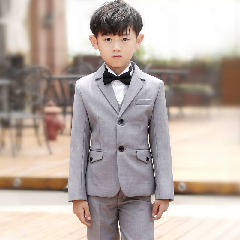 e9dcf9742915 Wedding Suit Boys Include Jackets Pants Shirt Bow Tie Kids Blazer Tuxedo  Boy Boy Suit For Wedding Custom Made