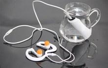 De calidad superior a prueba de Agua nadando impermeabilización gancho auricular auriculares para mp3/mp4