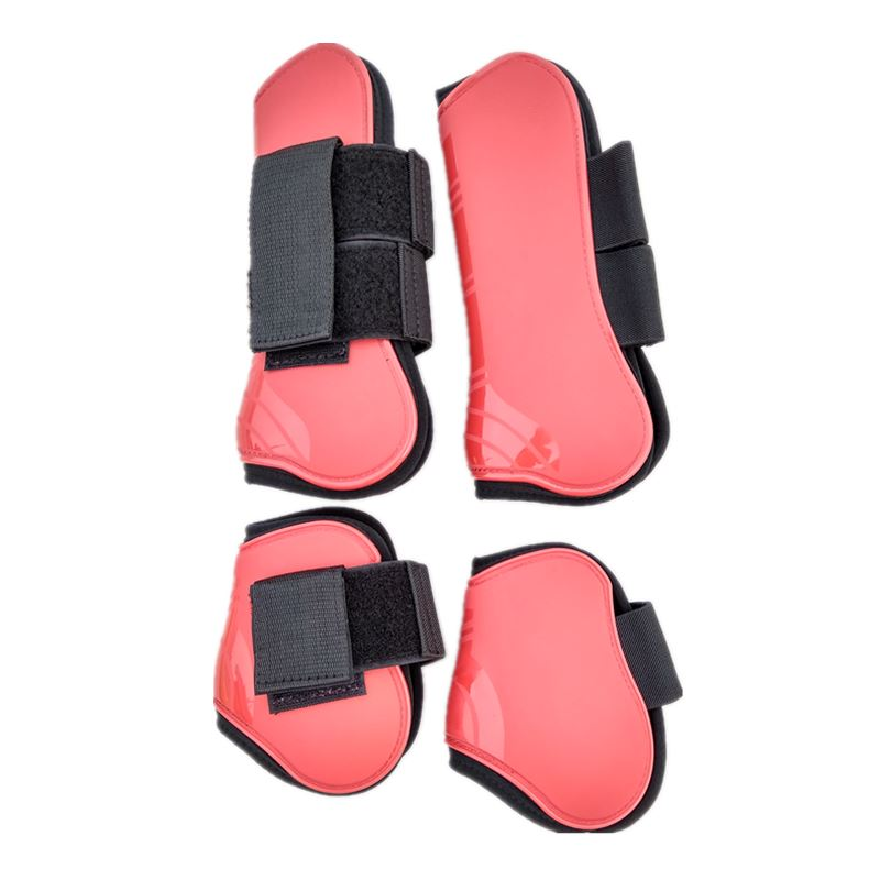 Horse Tendon Boots Polyurethane Shell Neoprene Lining Jumping Protective Boots