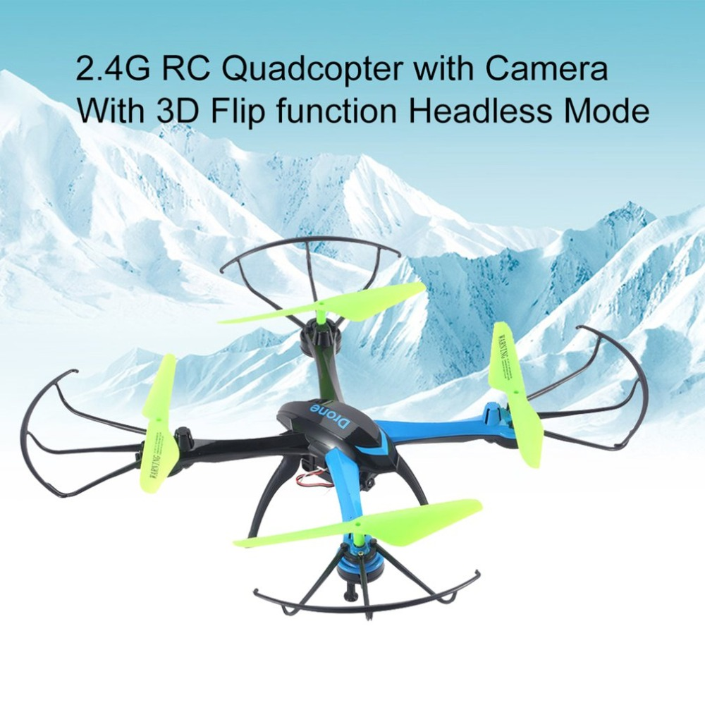 Jjrc H98 Rc Quadcopter With Camera Flying Helicopter Led Light Drone Ocean Toy Super F 33043 Jjr C 24g 6 Axis Gyro 3d Flip Function