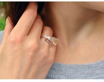 Calla Lily Handmade Flower Ring8
