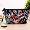 2016 New women cosmetic cases travel handbags large capacity wash bags make up cosmetic case 8 styles  free shipping
