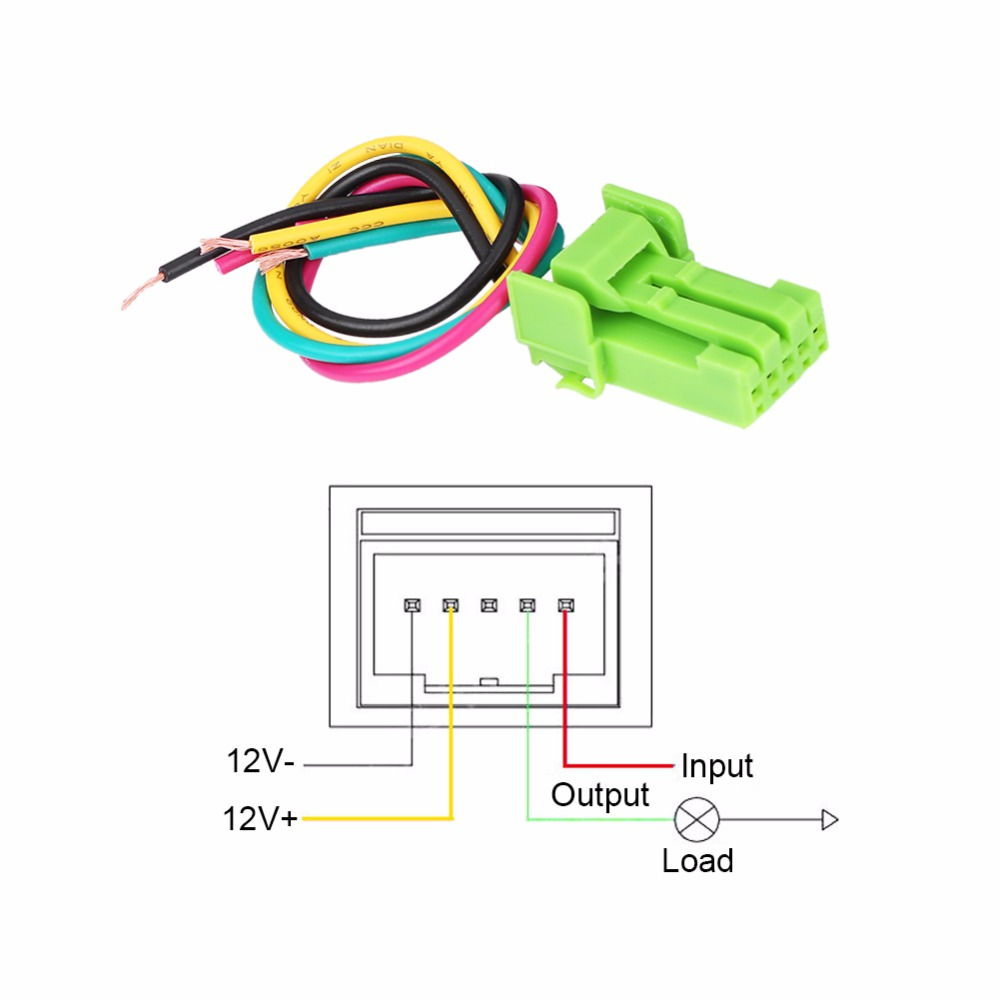 medium resolution of car led on off rocker toggle switch for toyota camery yaris highlander prius carora fan power on spotlight parking in car switches relays from