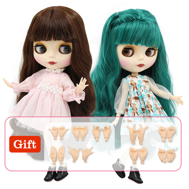 ICY factory blyth doll bjd naked doll normal and joint body bjd 30cm hands AB as gift