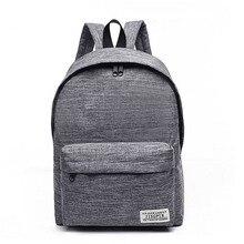 купить New Fashion Men Women Backpacks Canvas School Backpack Bags for Teenagers Vintage Bags girls Boy  Casual Rucksack Travel Daypack по цене 599.86 рублей