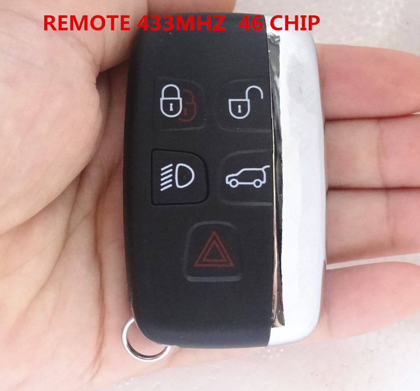 Replacment Car Remote Key FITS for Land Rover Range rover LANDrover 433MHZ 46 CHIP 3 Buttons Folding Flip Key Case auto parts