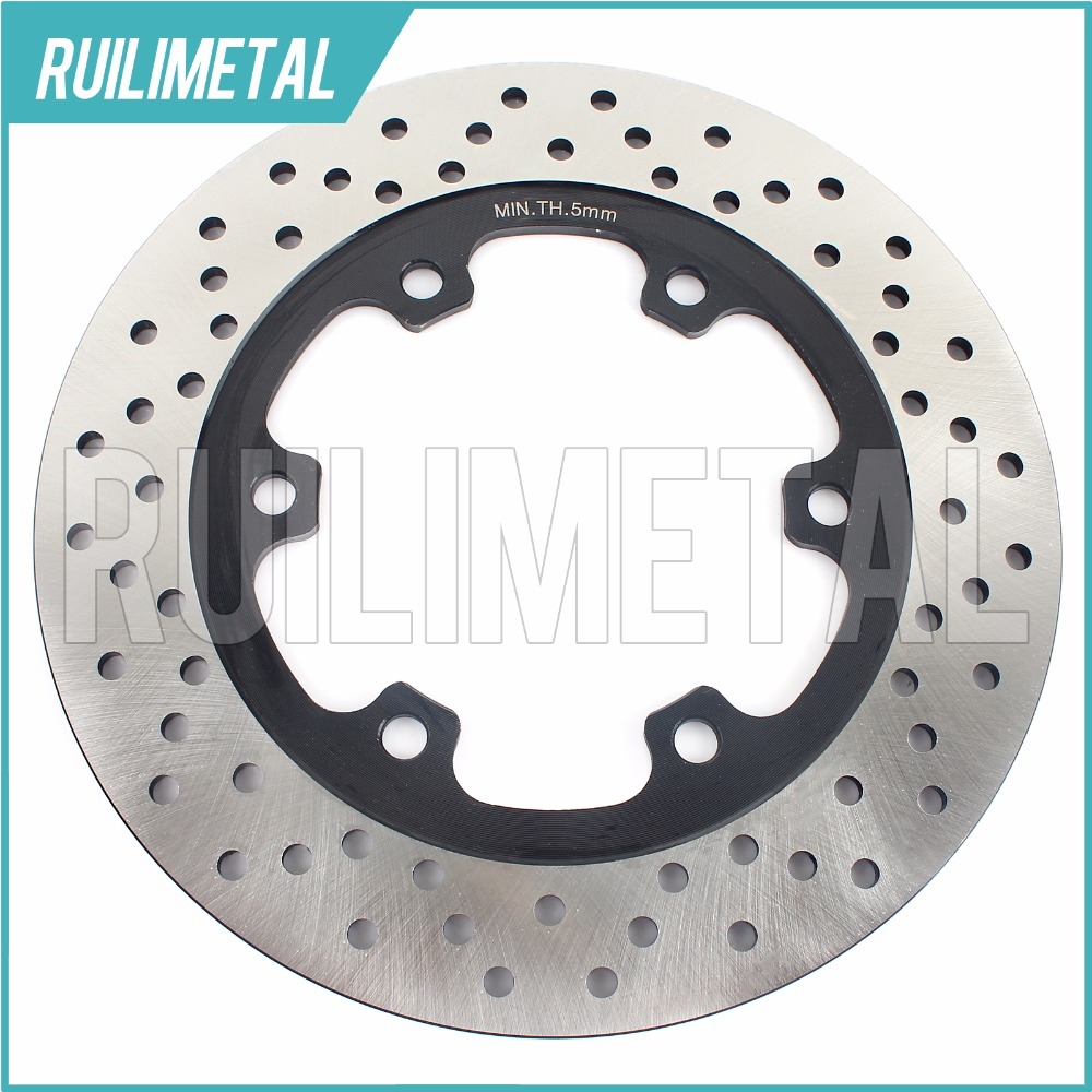 Rear Brake Disc Rotor for Speed Triple 900  Sprint 900 Trident 750 Trident 900 1991 1992 1993 1994 1995 1996 1997 1998 rear brake disc rotor for 600 ducati monster city dark ss supersport 1991 1992 1993 1994 1995 1996 1997 620 monster 2005 2006