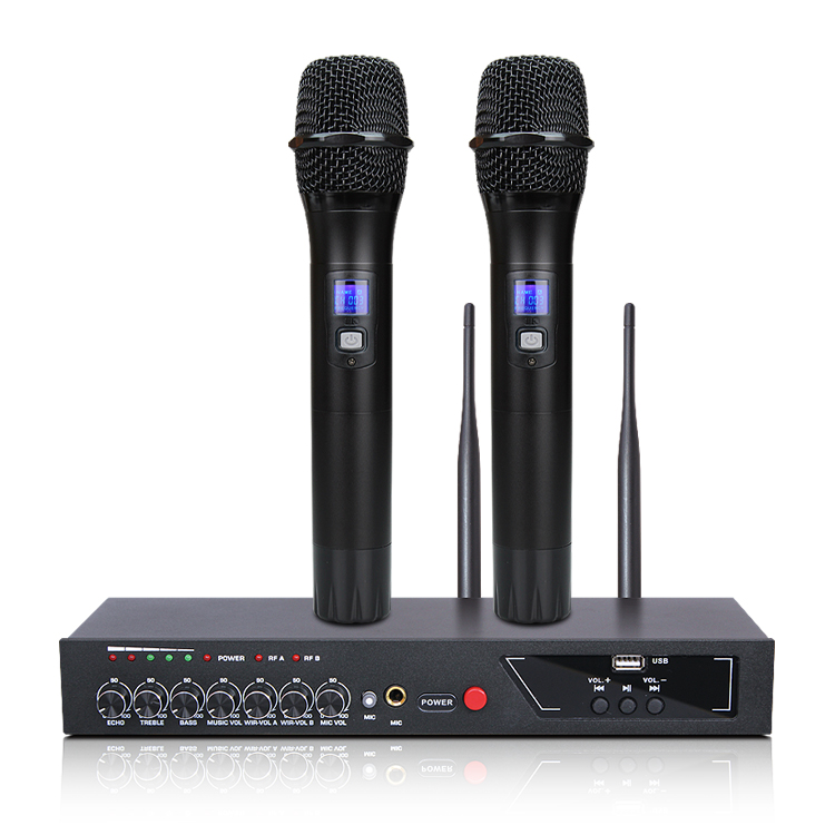 MU 6S Karaoke Microphone Bluetooth Microphone For Computer Studio Microphone Wireless Microphone Lectures Handheld Microphone-in Microphones from Consumer Electronics