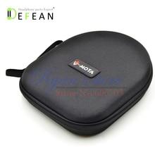 Defean New black Hard Carry Case Box Bag For TELEX AIRMAN 750 760 850 Aviation Headsets Headphone