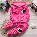 Новые полки одежда для новорожденных костюм весенние и осенние спортивные 2 Шт. \ костюм с длинными рукавами хлопок детская одежда костюм мальчиков