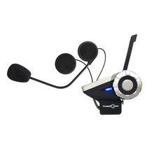 Motorbike Handsfree BT Interphone 1500M 8-Way Radio Wireless Motorcycle BT Interphone Bluetooth Intercomunicador Helmet