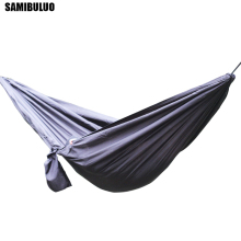 SAMIBULUO Portable Ultralight Double Hammock For 2 Person Sleeping Bed Outdoor Camping Swing недорого