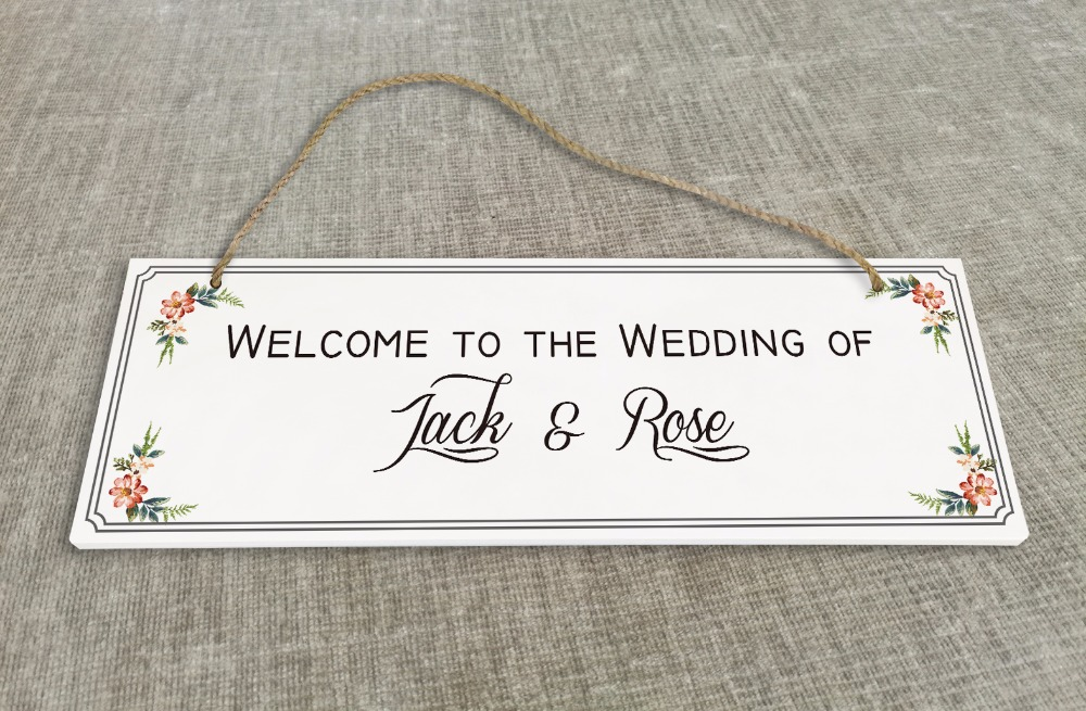 Personalized Outdoor Wedding Reception & Ceremony Decoration Directional Signs wedding sign board guild board SB001H