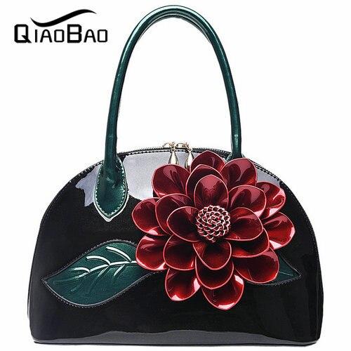 ФОТО QIAOBAO Fashion Flower Fashion Women CrossBody Bag Female Shoulder Bags Marry Women Messenger Bags