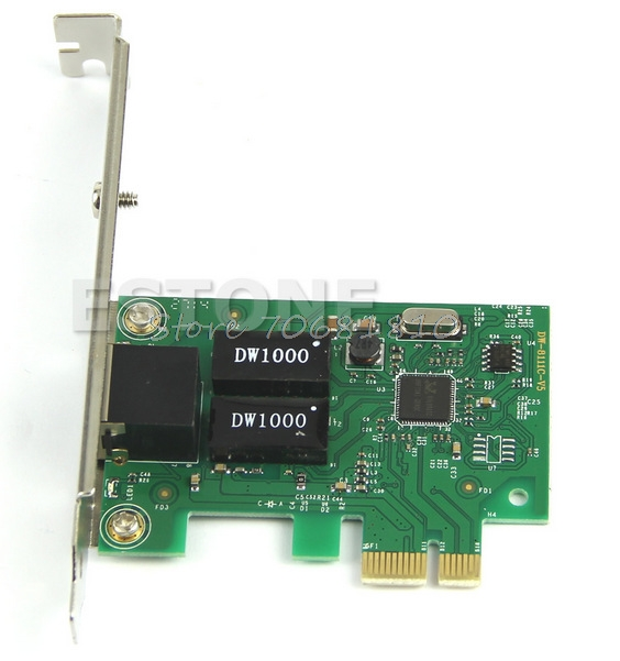 For Gigabit Ethernet LAN PCI Express PCIe Network Controller Card New Drop Shipping лайтбокс абстракция 5 45x45 060