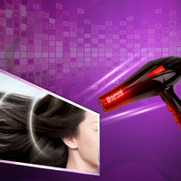 BoPAi Professional 4000W Super Power Fast Styling Salon Hair Dryer Adjustment Hot/Cold Wind Electric Hairdryer Blow Dryer 42