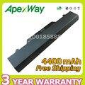 Apexway zz06 4400 mah 6 células bateria do portátil para hp probook 4510 s 4515 s 4710 s 72032-001 hstnn-ob88 hstnn-xb88 nbp8a157b1