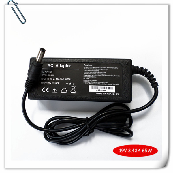 19V 3.42A 65W AC Adapter Battery Charger For ASUS R33030 <font><b>N17908</b></font> <font><b>V85</b></font> N193 M6000N M6700N M6800N M6B00N universal laptop charger image