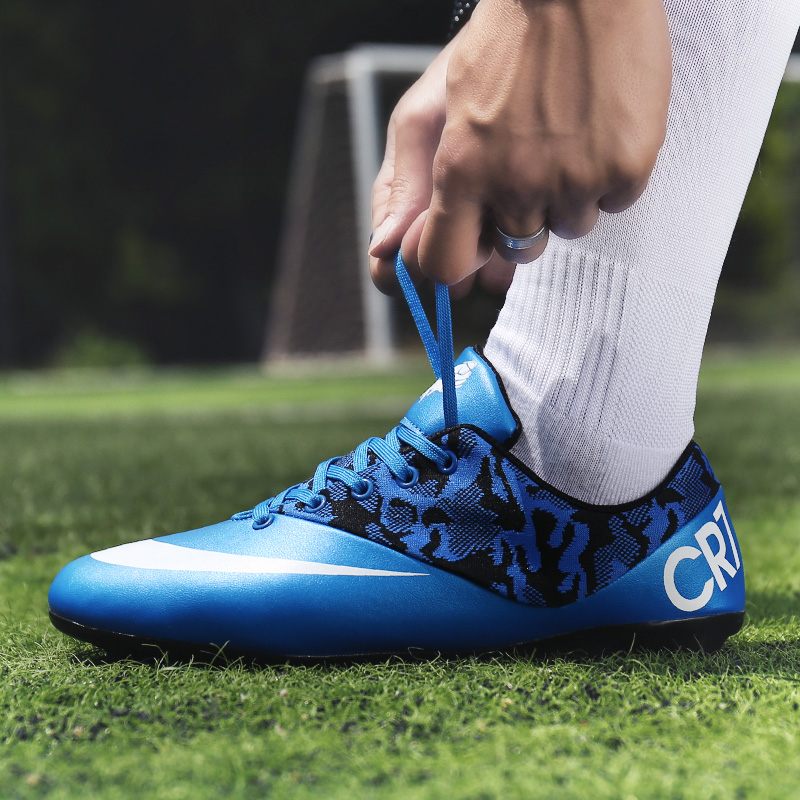 High Quality Cheap Professional Men Turf Indoor Soccer Shoes Cleats Kids Original Superfly futsal Football Boots Sneakers