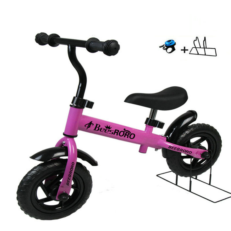 Factory Outlet 10Inch baby balance bike with adjust handle, No pedal kids bike, Pink baby balance bike with asjust seat factory outlet 10inch baby balance bike with adjust handle no pedal kids bike pink baby balance bike with asjust seat