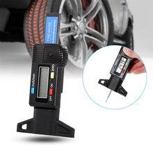 CARPRIE 타이어 압력 모니터 시스템 뜨거운 자동차 디지털 타이어 타이어 밟아 깊이 게이지 Measurer 캘리퍼스 LCD 디스플레이 0 25.4mm AP 9619