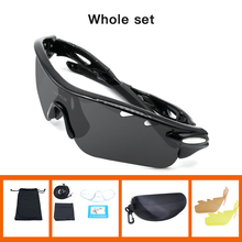 NEWBOLER Men Fishing Sunglasses Women Polarized 3 Lense Brown Fishing Eyewear Hiking Climbing Eyewear Outdoors Sport Goggles