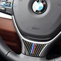 Fluggeschwindigkeit für BMW F10 F11 F07 5 Serie Carbon Faser Auto Lenkrad Aufkleber M Sport 530 525 520i 535i zubehör Auto Styling-in Autoaufkleber aus Kraftfahrzeuge und Motorräder bei