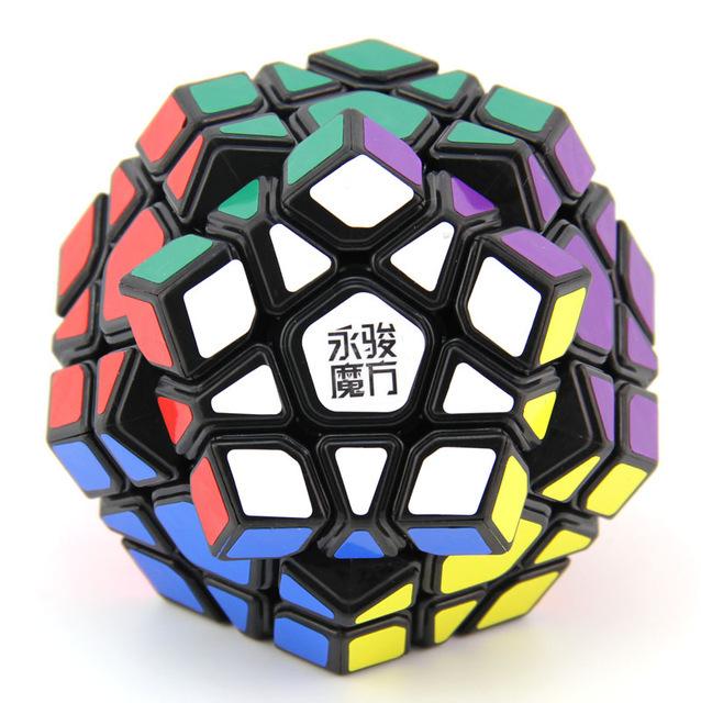 Yuhu Moyu Velocidad Megaminx Cubo Mágico Negro Gran Niños Juguete Educativo Caliente Seling