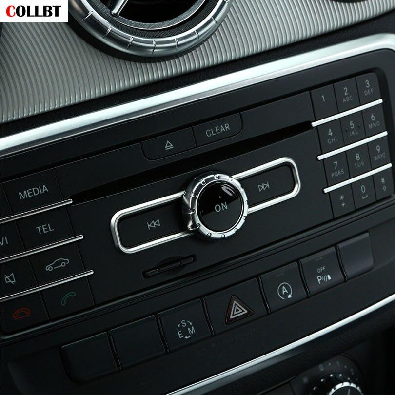 CD Switch Sequin Trim for Mercedes Benz CLA GLA B Class C A180 W176 E GLE