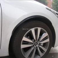 4 шт.. Автомобильное арочное колесо уширитель крыла удлинитель для губ против царапин мягкая полоса колеса для губ уширитель крыла s Автомобиль Стайлинг