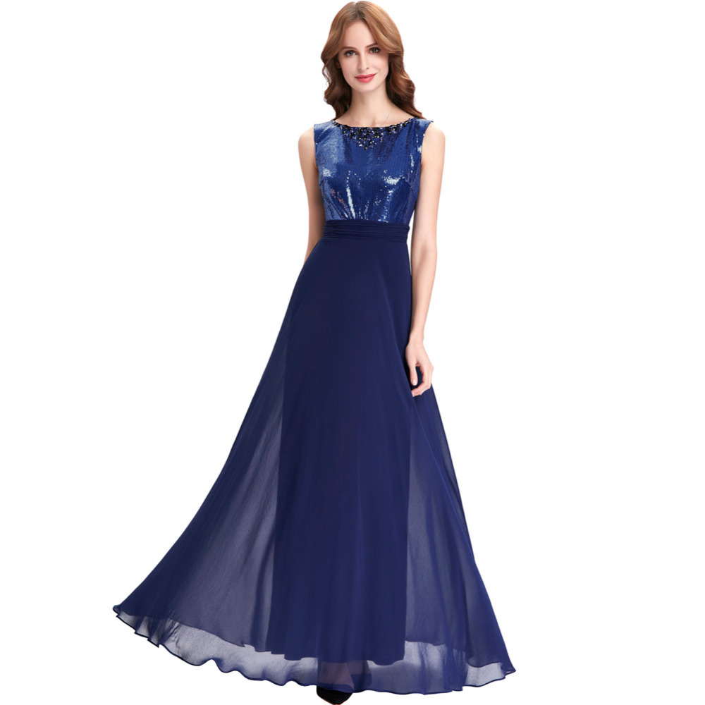 Blue wedding reception dress royal blue dress related for Long blue dress for wedding