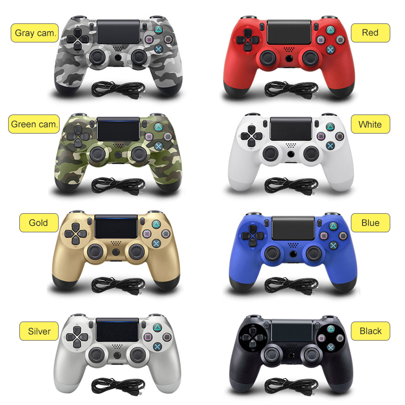 Bluetooth Wireless Gamepad Remote Controller for Sony Playstation 4 PS4 Controller For PlayStation 4 Dualshock4 Joystick Gamepad blue wet microfiber mopping cloths for irobot braava 380 380t 320 mint 4200 4205 5200 5200c floor mopping robot
