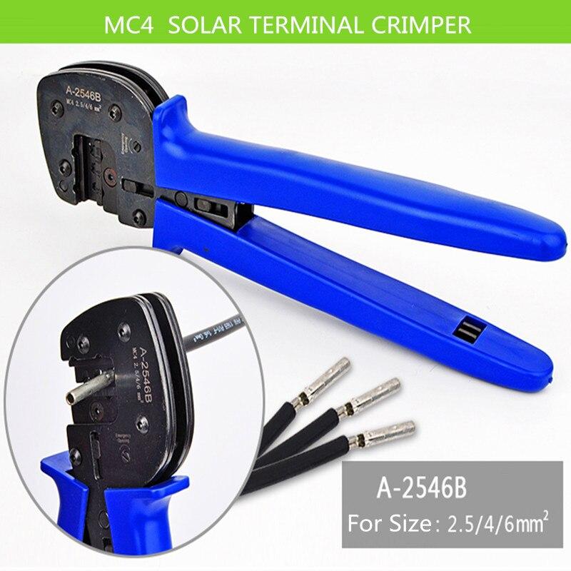 Solar Crimper 2,5-6mm2 Angenehm Im Nachgeschmack UnermüDlich A-2546-4 Solar Terminal Crimper Für Solar Panel Pv Kabel Mc3 Crimpen Werkzeug Für Solar Panel Anschlüsse Handwerkzeuge Zangen
