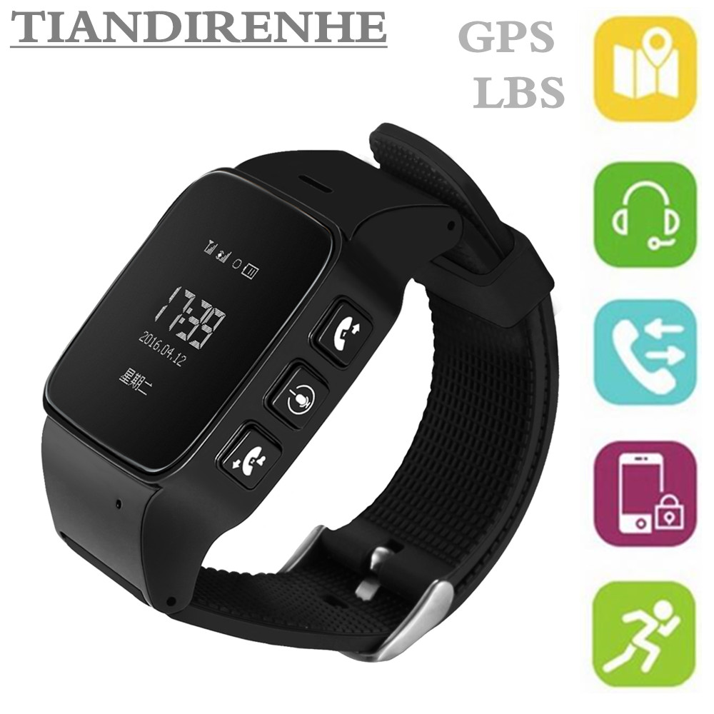 Q90 Elderly Tracker Android Smart Watch Google Map SOS Wristwatch SIM Card GSM GPS LBS Wifi Safety Anti-Lost Locator intelligent