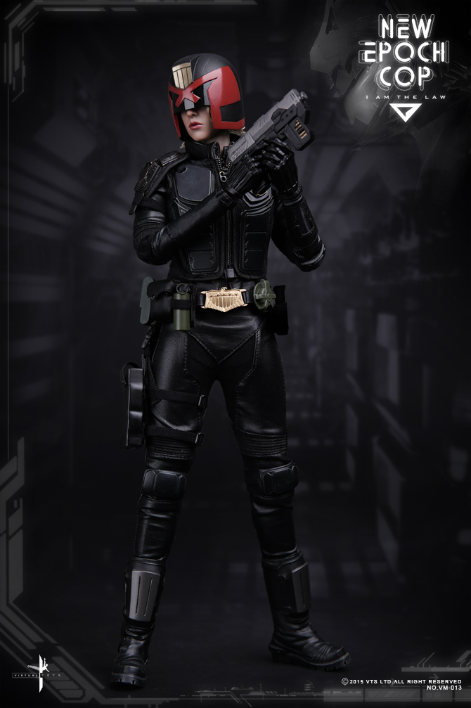 1/6 scale figure doll Female Dredd NEW EPOCH COP Cassandra Anderson 12 Action figure doll Collectible Figure Plastic model toy 1 7 scale figure doll female clown harley quinn 10 action figure doll collectible figure model toy gift