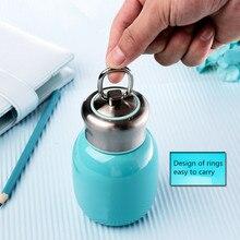 HEIßER VERKAUF!! 200 ML Mini Nette Kaffee-Flaschen Thermoskanne Edelstahl Reise Trinken Wasserflasche Thermos Tassen und becher