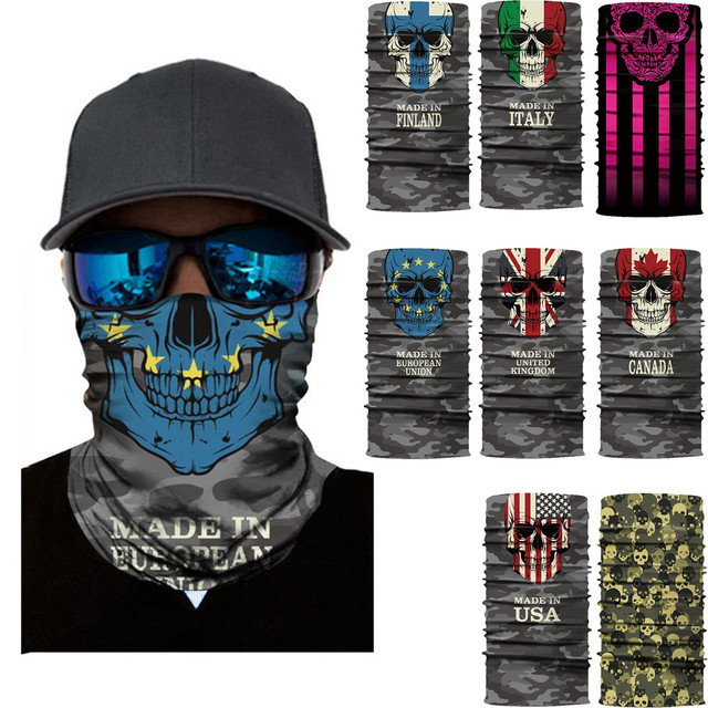 $ US $1.53 FishSunDay Outdoor Multicolor Cycling Motorcycle Head Scarf Neck Warmer Face Mask  Headband 0710